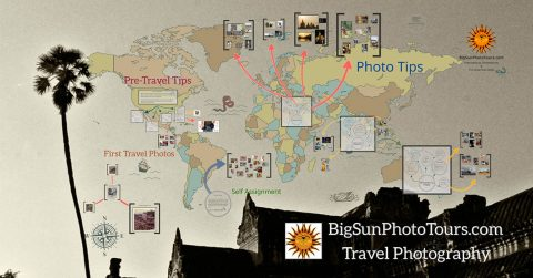 Travel photography lecture and tutorial.